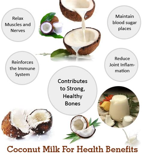 Milk For Health And by Coconut Milk For Health Benefits Health Images