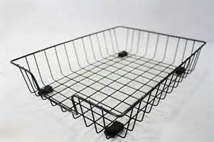 in out basket desk accessory wire basket office decor