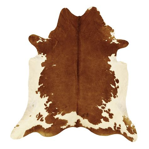 Brown And White Cow Rug Cowhide Rug Brown And White