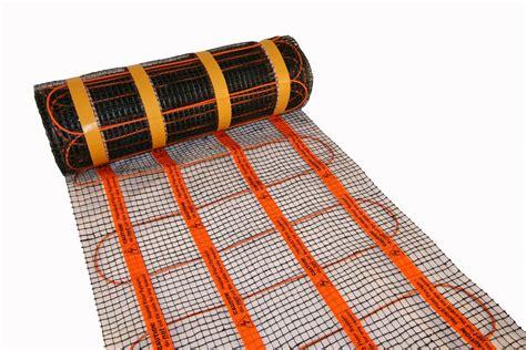 Underfloor Heating Mat heat mat 160w m2 underfloor heating mat standard rooms