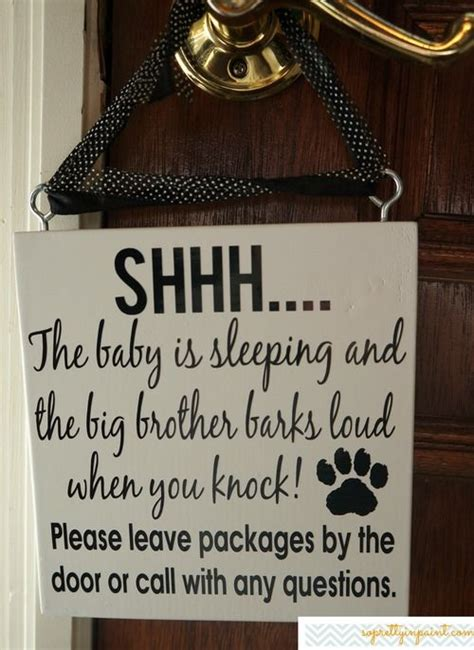 Baby Sleeping Sign For Front Door 1000 Images About Sleeping Baby Signs On Barking Texts And Sleeping Babies