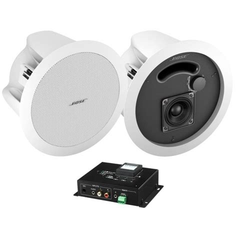 wireless bluetooth hotel room system with 2 in ceiling