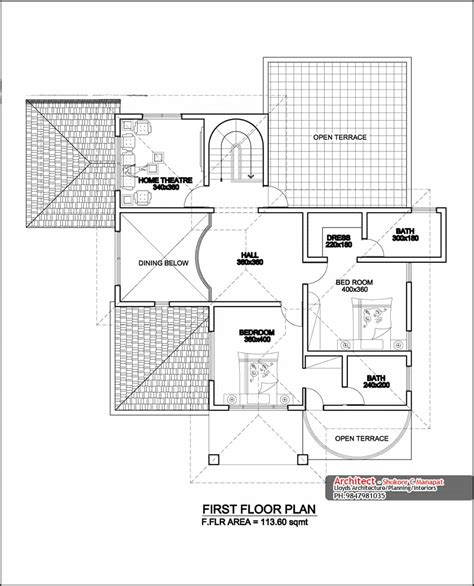 kerala home design with free floor plan two storey four bedroom house design at 3236 sq ft with plan