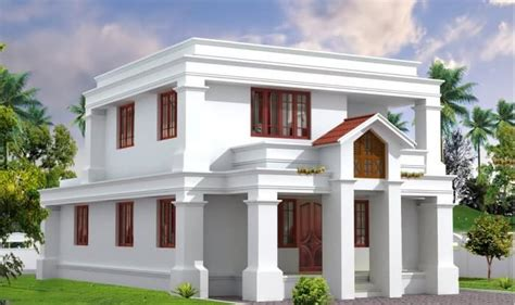 beautiful flat roof kerala home design 2014