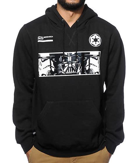 Jaket Zipper Hoodie Sweater Anak Wars Logo wars sweatshirt black