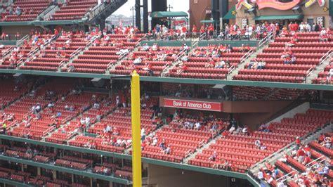 redbird club seats st louis cardinals club seating at busch stadium
