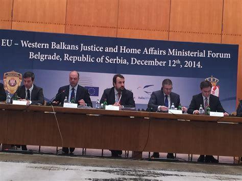 ministero dell interno forum belgrado il ministro alfano al forum ministeriale affari
