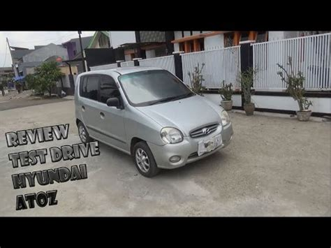 Hyundai Atoz Glx 2003 2002 hyundai atoz glx review start up engine in depth