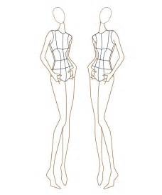 fashion template 25 best ideas about fashion illustration template on