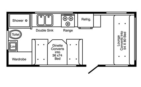 hi lo trailer floor plans hi lo rv floor plans thefloors co