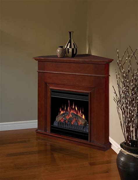 Ricky Cherry Corner Electric Fireplace Dfp3670c Small Corner Electric Fireplace