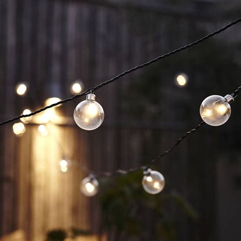 Clear Festoon Led Light Chain By The Little House Shop Clear Lights