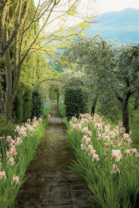fashion designer federico forquets garden  tuscany