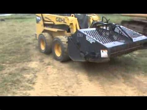Landscape Rake Wiki Bobcat 6b Landscape Rake Rockhound For Skid Steer Loader