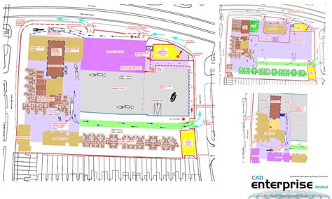 construction site plan cad enterprise ltd architectural and engineering design