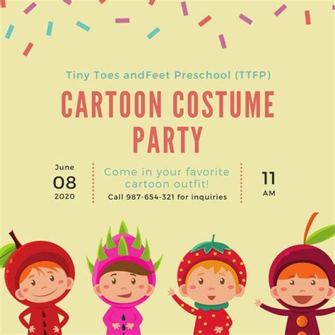 children s day card template customize 52 invitation templates canva
