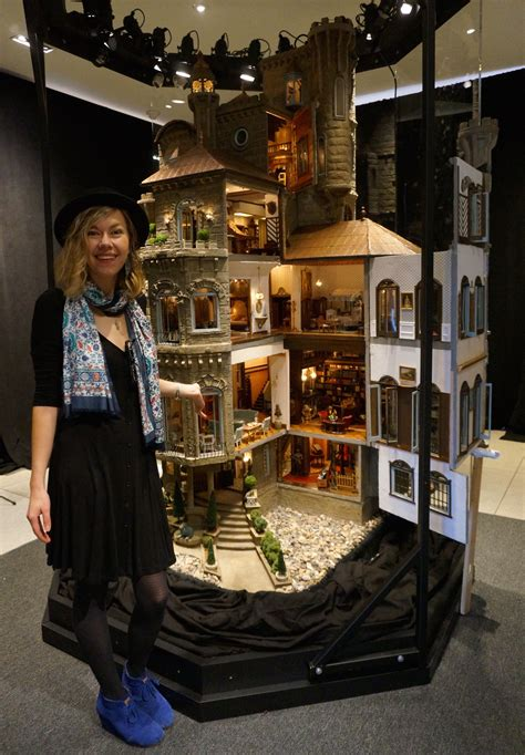 the biggest doll house ever tiny treasures big fantasy the astolat dollhouse castle
