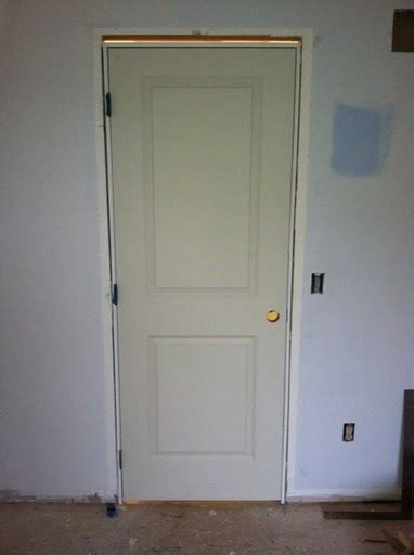 How To Hang A Closet Door How To Replace A Prehung Interior Door Buildipedia