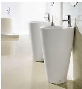 Bathroom cabinets pedestal sinks modern bathroom pedestal sink ferrara