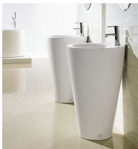 Modern Pedestal Bathroom Sinks Modern Pedestal Sink Contemporary Pedestal Sink Ferrara