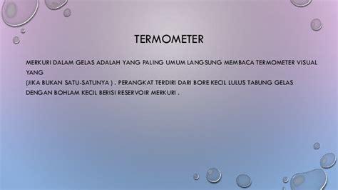 Termometer Gelas temperature and heat kelompok 8