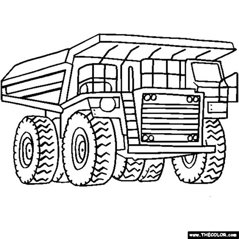 monster truck coloring pages construction truck coloring