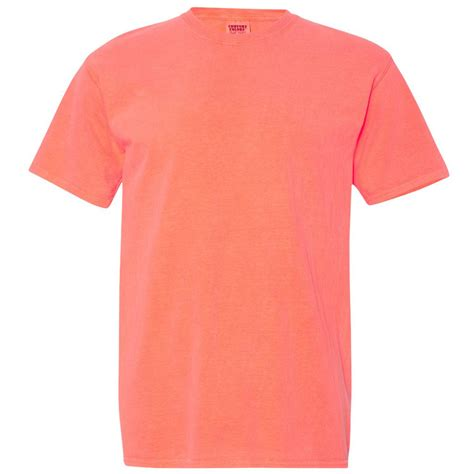 Neon Orange Comfort Colors by Comfort Colors 1717 Garment Dyed Heavyweight Ringspun