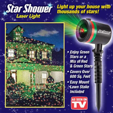 star shower laser christmas light from collections etc