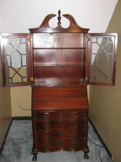 furniture traditional secretary desk with hutch and