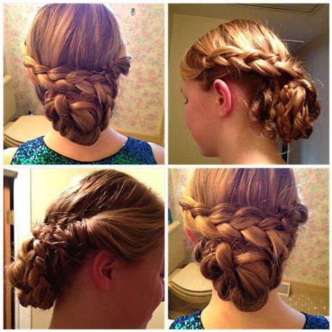hair styles for the ball braids of glory junior rebecca rosenblatt is north penn s