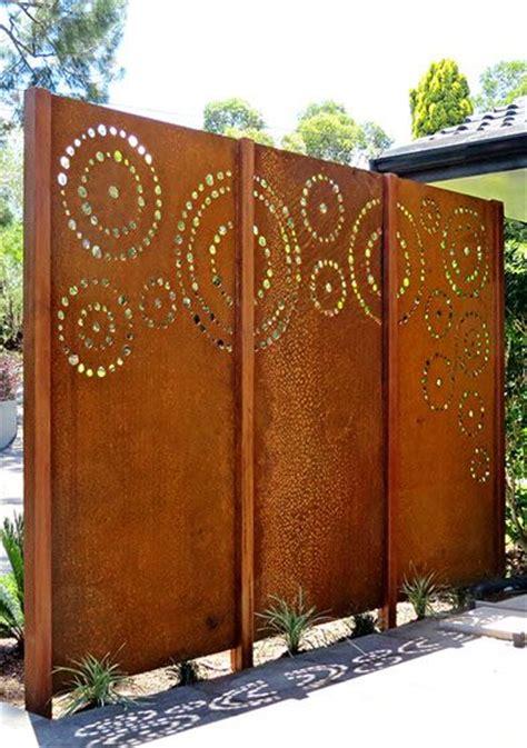 Garden Screen Panels by Laser Cut Screening Dots Custom This Panel