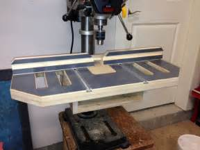 up of new drill press table kreg owners community