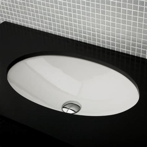 under counter bathroom sinks lacava 33l euro under counter porcelain sink with overflow