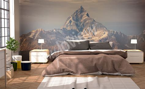 mountain wall murals murals mountains to size of wall myloview