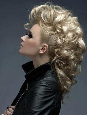 prom hair style of the 70 s 25 best ideas about long hair mohawk on pinterest