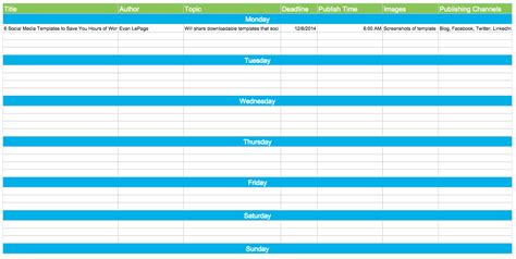 8 Common Facebook Mistakes Social Media Managers Need To Avoid Hubspot Editorial Calendar Template