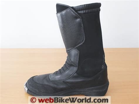 bmw boots bmw santiago boots review webbikeworld