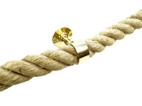 Handlauf Halterung Abstand by Handlauf Halter Seiltr 228 Ger Seilhalter Tau Seil Messing