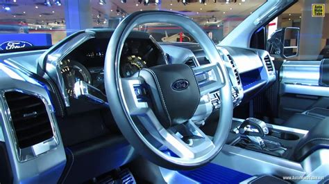 2020 Ford P702 by 2015 Ford F 150 Atlas Concept Interior Walkaround 2013