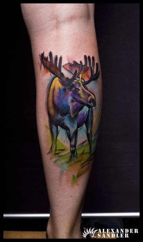 moose tattoo designs best 25 moose ideas on alaskan tattoos