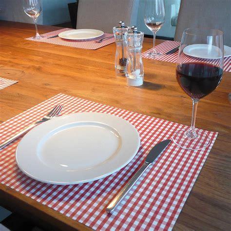 set de table design sets de table papier vichy pa design absolument design