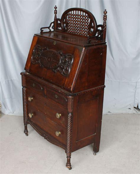 antique drop front desk bargain s antiques 187 archive antique oak drop