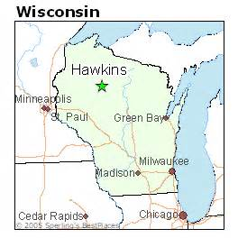 hawkins map best places to live in hawkins wisconsin