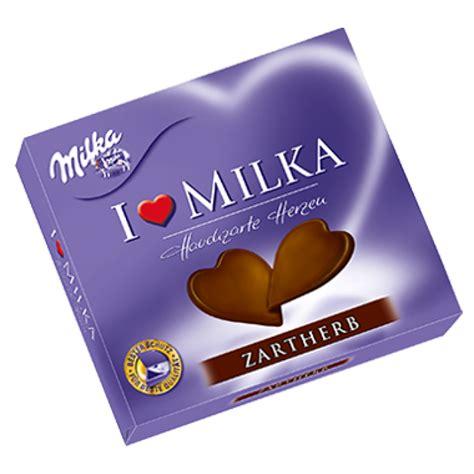 milka i love milka delicate heart dark chocolate