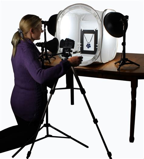 Tabletop Photography Kit by Tabletop Studio Ezcube Light Tent Unique Features
