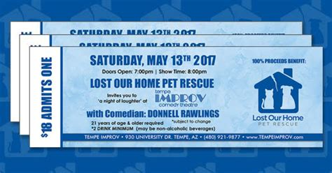 lost our home pet rescue 2017 at the improv