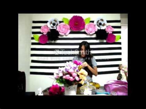 decoracion cumple de 13 anos decoracion de fiesta con flores 40 a 241 os youtube
