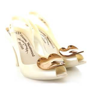 vivienne westwood for pearl white heels size