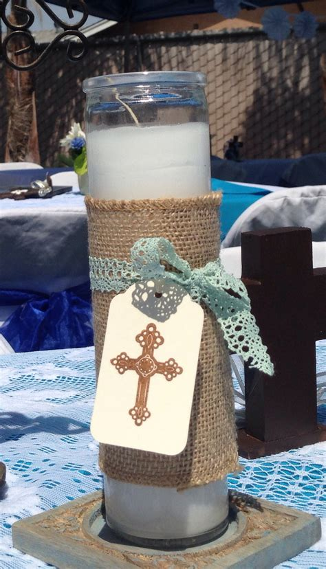 Baptism Boy Baptism Boy Party Decorations Christening Baptism Centerpieces Ideas