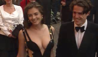 Why Ex Hugh Grant Didnt Show For Lizs Wedding by Liz Hurley In That Dress With Hugh Grant In Leicester Square